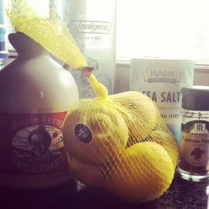 You need these for master cleanse