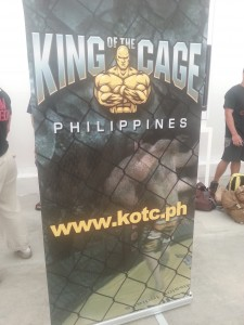 King of the Cage official banner
