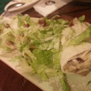 TOSH Carbonara wrap