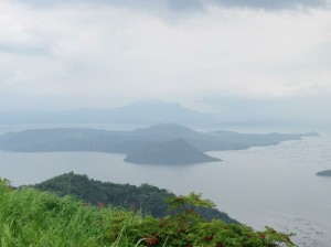 View form Taal Vista Hotel