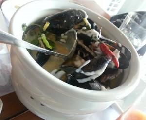 Mussel soup P 290