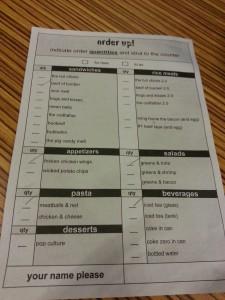 Grub checklist
