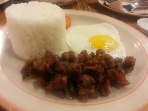 #1 beef tapa (and egg)