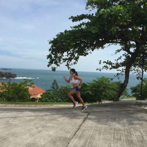 babetravelling running