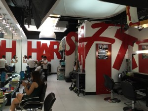 hairshaft podium