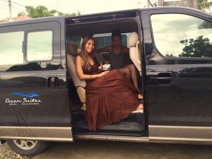 Ocean suites Pick up Van