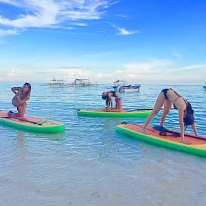 Alona Beach SUP Yoga