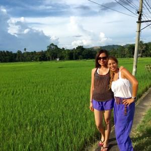 Bohol natural green scenery