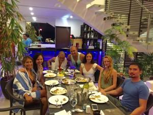 Ocean suites dinner