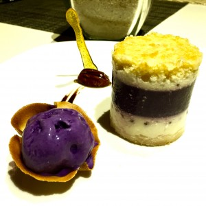 Boholano Kinampay Ube dessert