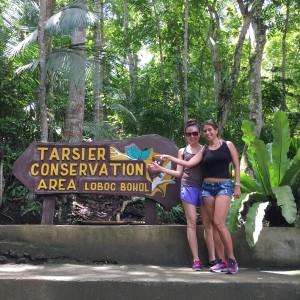 tarsier entrance Bohol