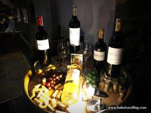 dourthe wine apiring